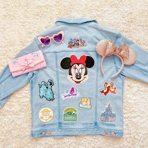 Disney Jean Jacket DIY
