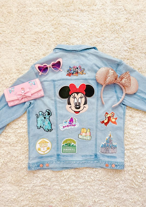 Disney Jean Jacket DIY
